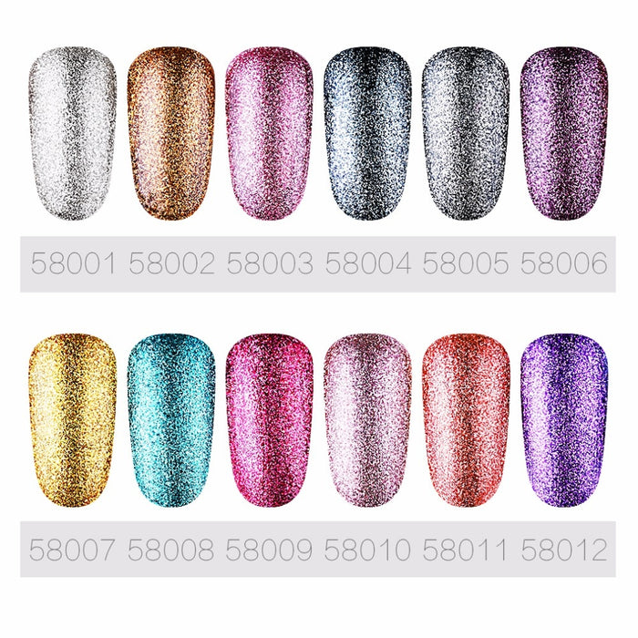 Bling Color Platinum Nail Gel - Toyzor.com