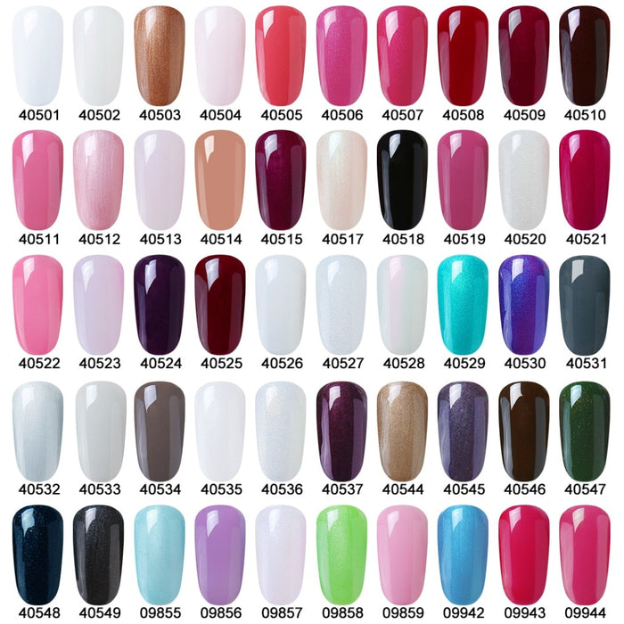Lucky Color 79 Colors UV Gel Nail Polish Long-lasting Gel Lacquer