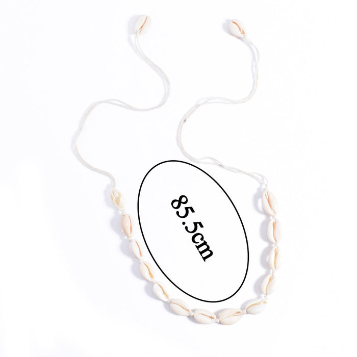 Boho Sea Shell Choker Necklace - Toyzor.com