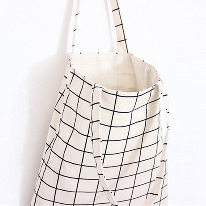 Canvas Tote Beach & Shopping Bag - Toyzor.com