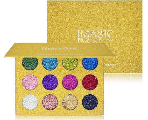 Luxury Rainbow Glitter Eye Shadow Palette - Toyzor.com