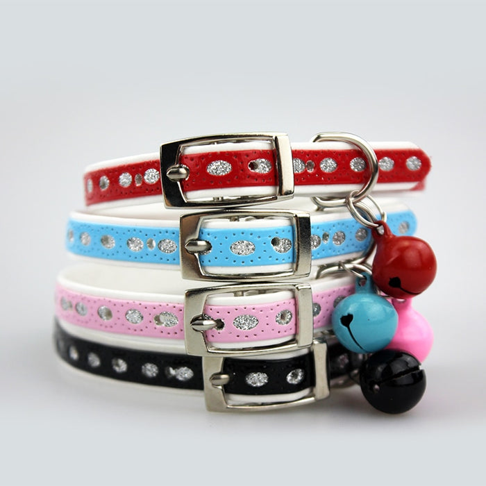 Reflective Puppy Collar in Cat Collars