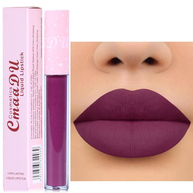 Matte Liquid Lipstick Waterproof Long-lasting Pigment