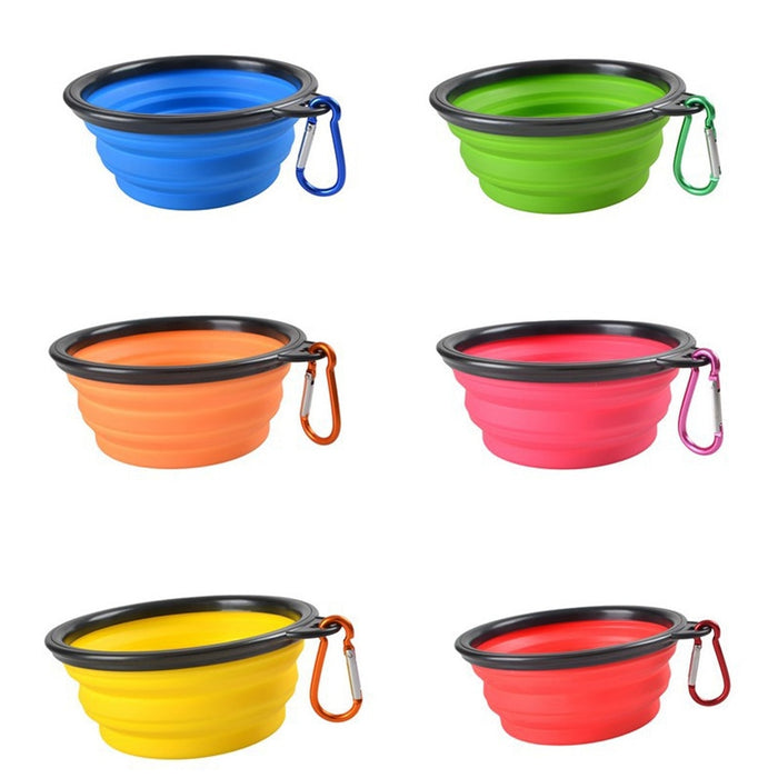 Portable Outdoor Travel Silicone Folding Bowls