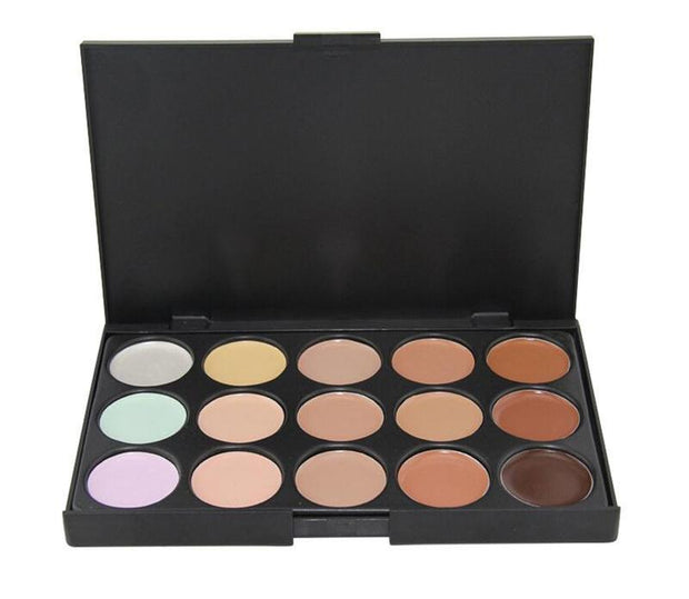 15 Colors Cream Base Palettes Matte Contouring Foundation Face Facial