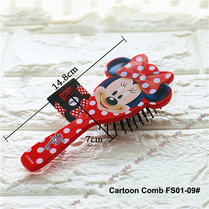 Disney 1 Piece Salon Detangling Kids Gentle Anti-static Brush