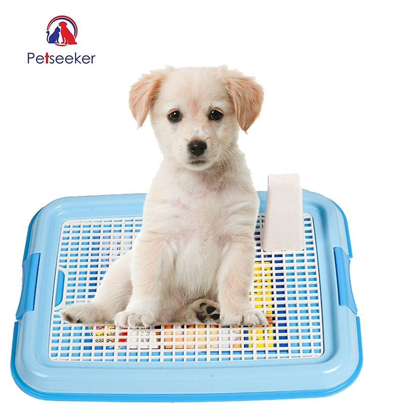 Dog Accessories Mesh Toilet Pad Tray Lattice Potty Training Durable Toilet Mat Goods