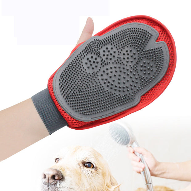 Dog Bath Comb Grooming Gloves Animal Massage