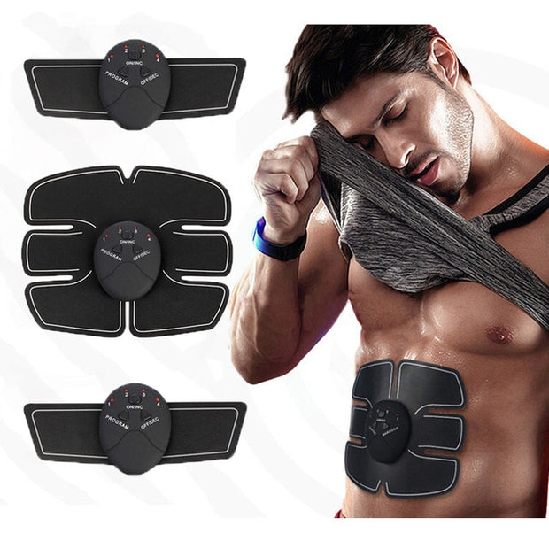 EMS Trainer Wireless Muscle ABS Stimulator Smart Fitness Abdominal Training Device