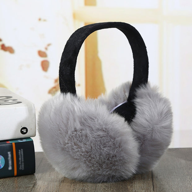 Faux Rabbit Earmuffs