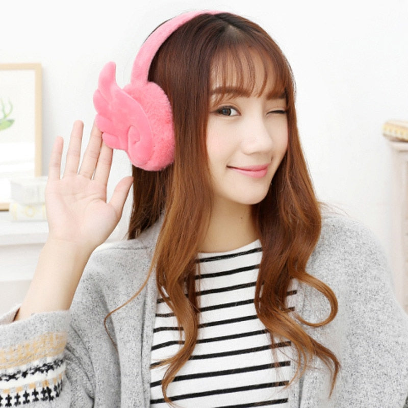 Female Winter Earmuff Headphones