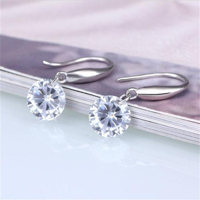 Crystal Stone Earring