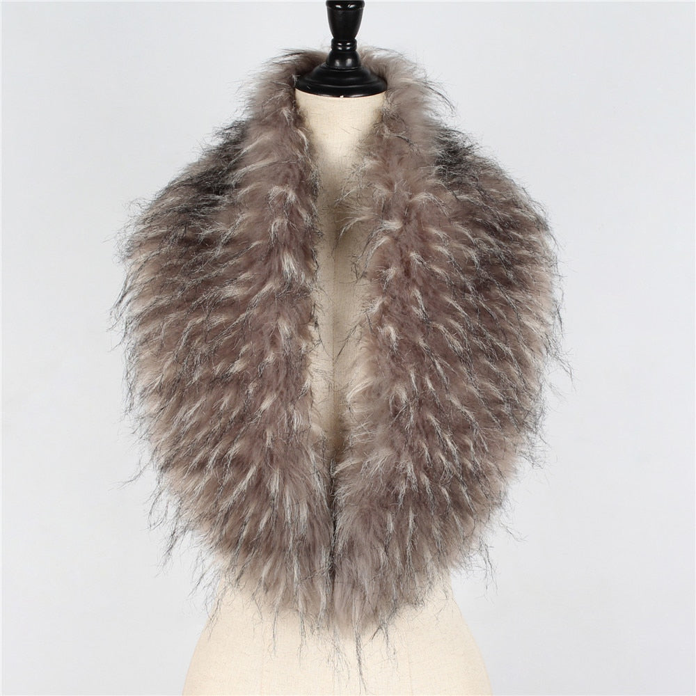 Autumn Winter Warm Shawl Scarves Clothes Collar