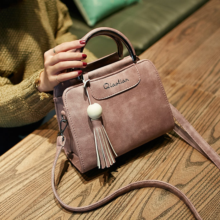 Women's Tassel Messenger Handbag