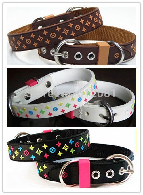 PVC star Pet Collar Lead Nylon Soft High Quality