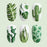 1 PC Leaf and Kiwi Fruit Water Slider Nail Sticker - Toyzor.com