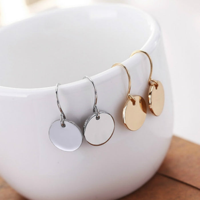 Mini Elegant Round Earrings