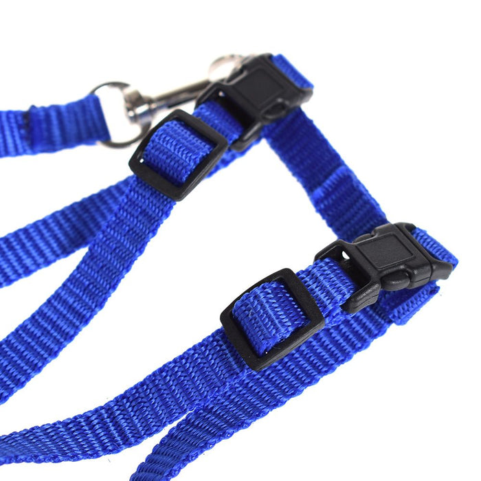Pet Traction Harness Belt And Leash Adjustable Halter Collar