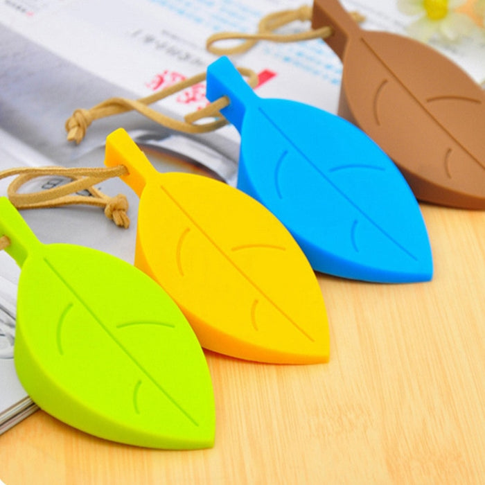 Cute Autumn Leaf Hot Silicone Rubber Door Finger Protection