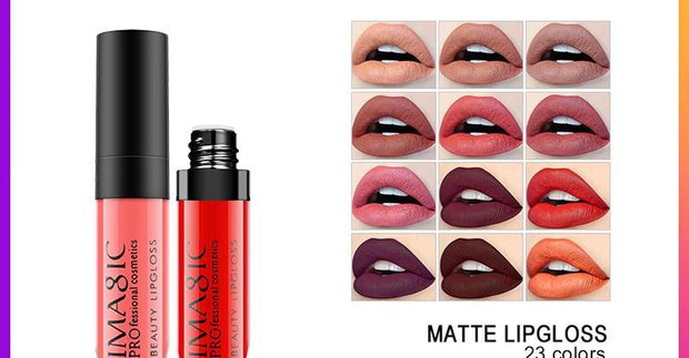 Hot Sexy Colors Lip Paint Matte Lipstick Waterproof