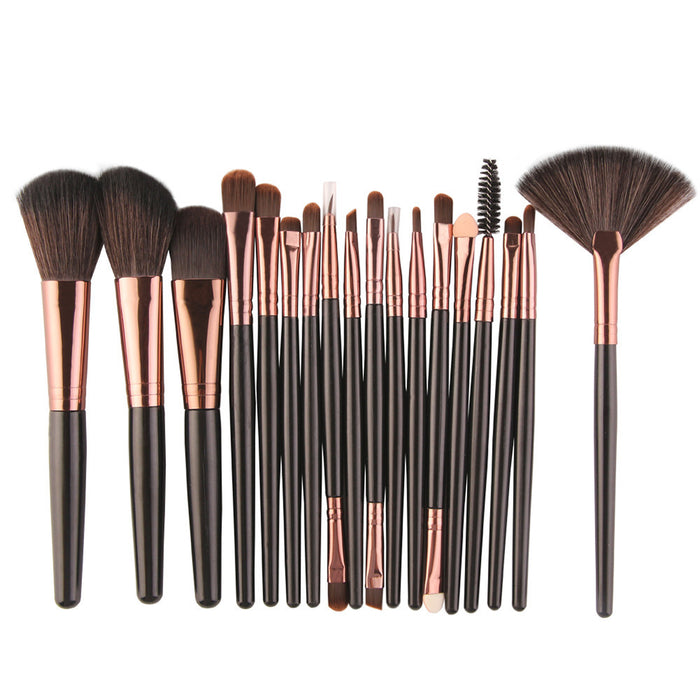 18 Pieces Hot Professional Makeup Brushes Tools - Toyzor.com