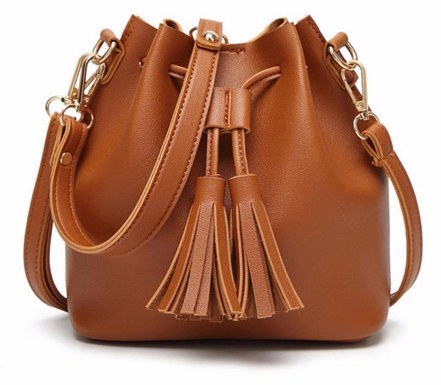 Lindy Drawstring Crossbody Bag