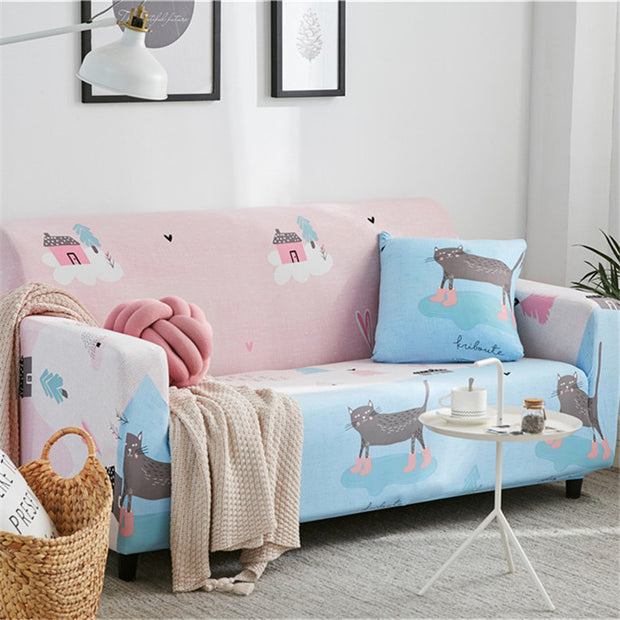 Elastic Stretch Universal Sofa Covers Sectional Throw Couch Corner Cover Cases