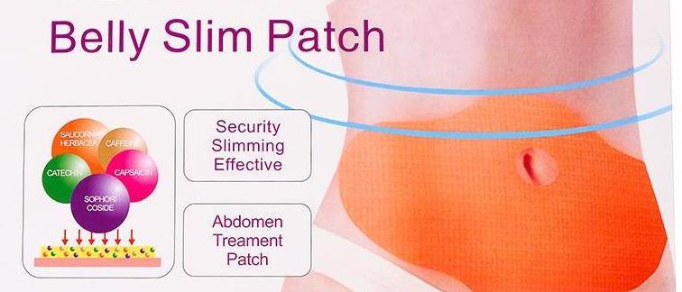 5 Pieces Slimming Patch Fat Burning Belly Weight Loss
