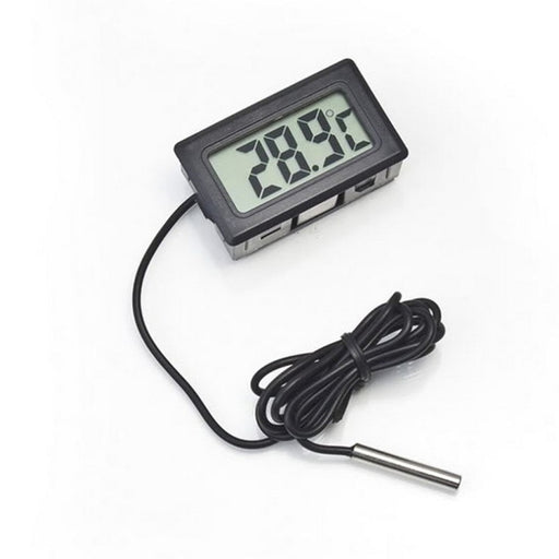 LCD Thermometer Temperature Digital for Bathroom Fridges Freezers Coolers Chillers