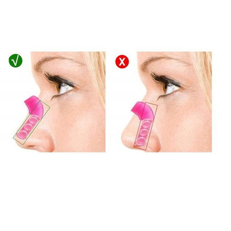 Soft Silicon Shape the Nose Shape Straighten the Bridge of the Nose
