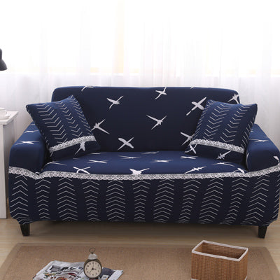 Leaves pattern Sofa Covers  Elastic Stretch Universal Sectional