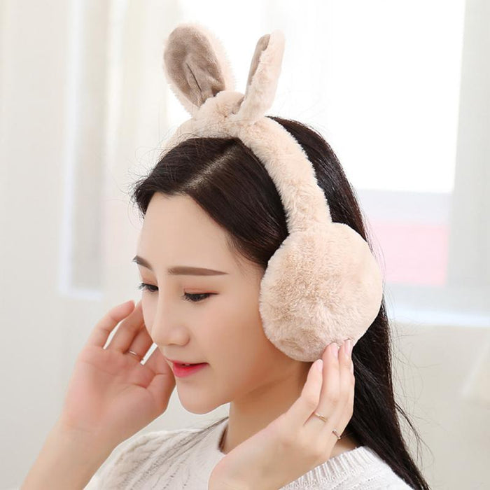 Lovely Rabbit bow Earmuffs