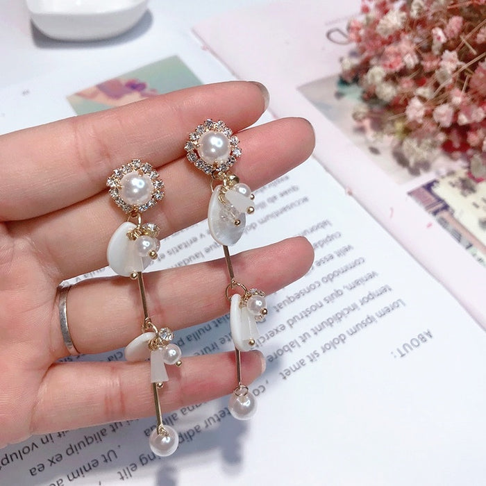 Pendant Long Earring