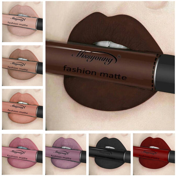 Waterproof Long Lasting Liquid Lipstick Moisturizer