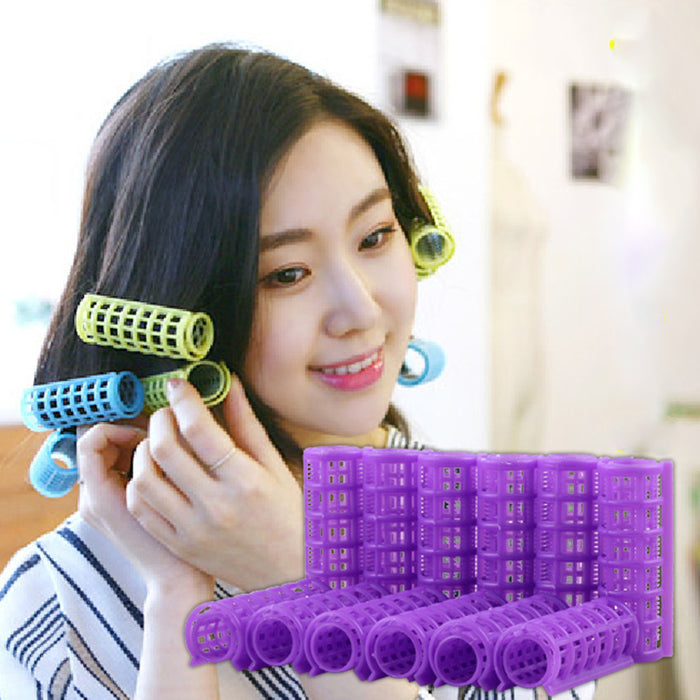 12 Pieces Magic Hair Curlers Tool - Toyzor.com
