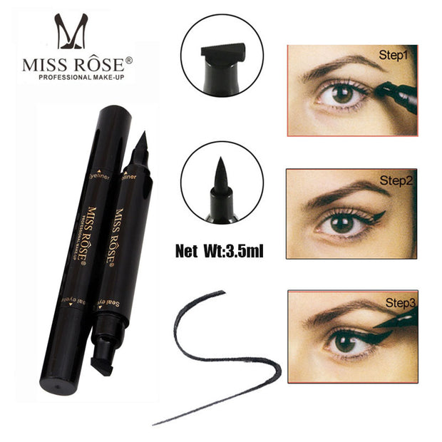 Liquid Quick Dry Waterproof Black Eye Liner