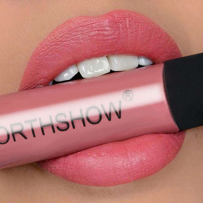 Easy To Wear Nude Red Matte Lipstick Long-Lasting Liquid Lip Tint