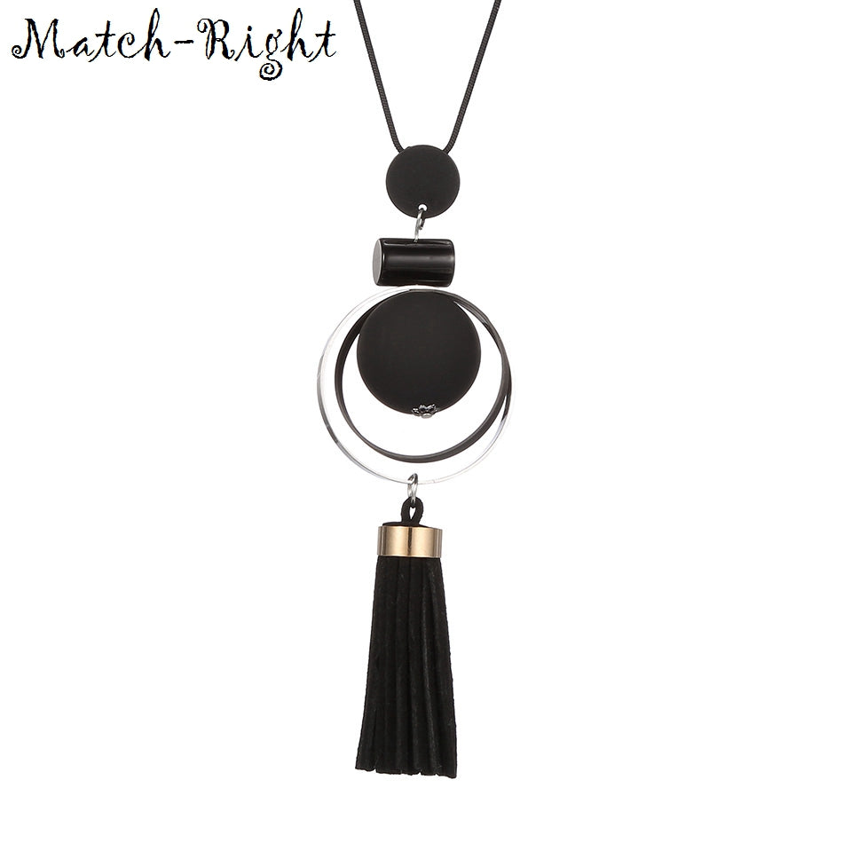 Match-Right Women Necklace Long Necklaces