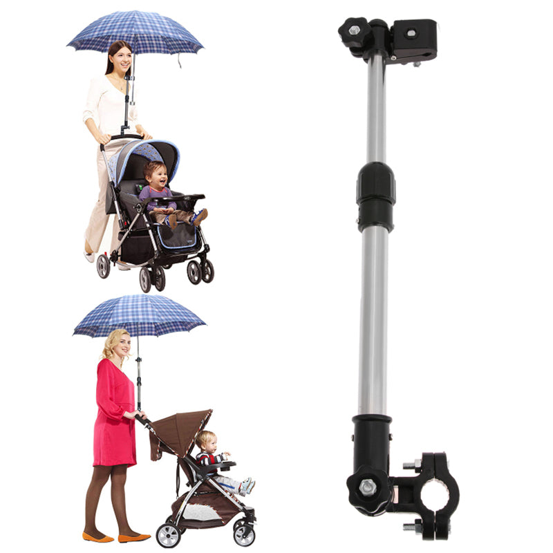 Adjustable Baby Stroller Umbrella Holder - Toyzor.com