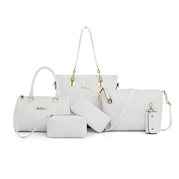 6 Pieces Composite Luxury Lady Bag - Toyzor.com