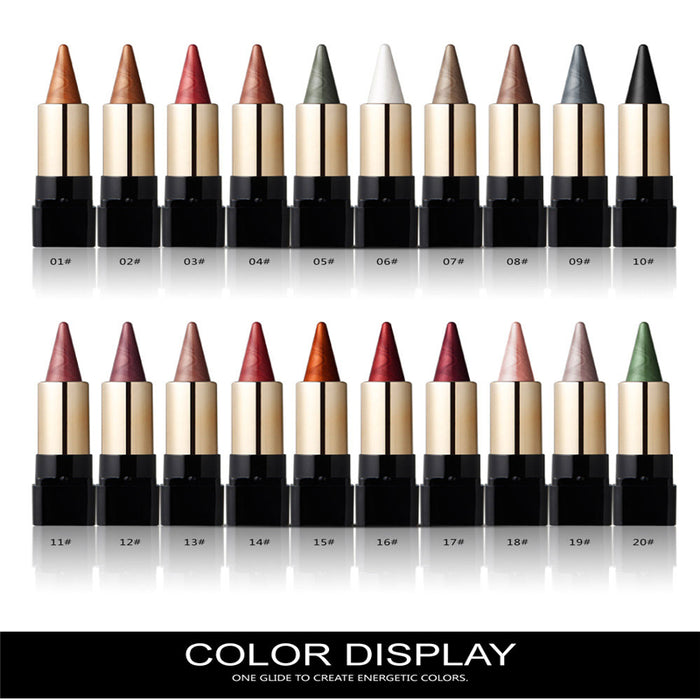 20 Colors Eye Shadow Pen Waterproof Shimmer Glitter Makeup - Toyzor.com