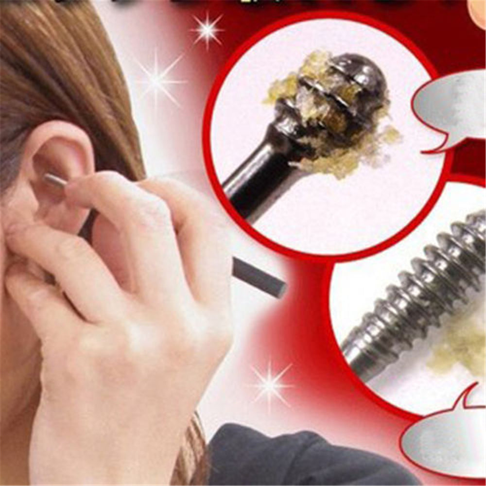New 1PCS Ear Wax Pickers Stainless Steel