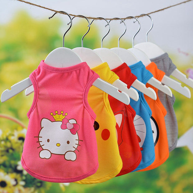 Cat Costume Clothes For Summer Accessories