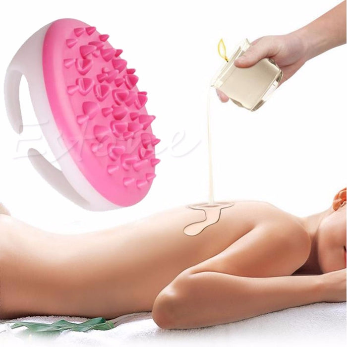 Handheld Bath Shower Anti Cellulite Full Body Massage Brush
