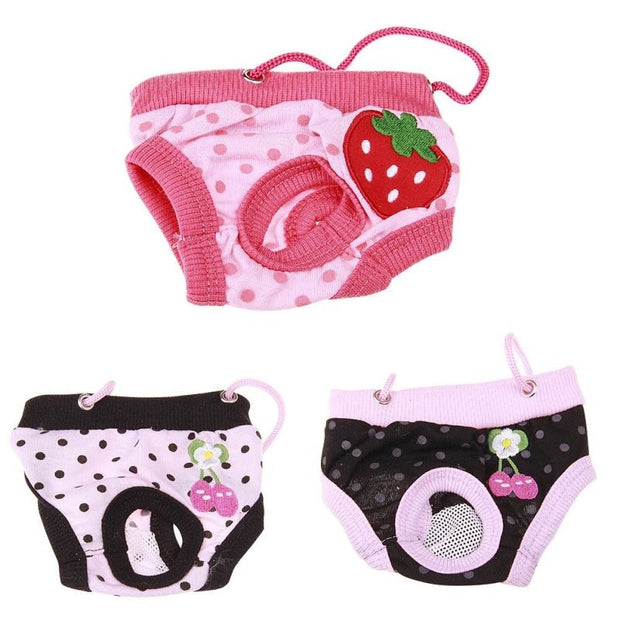 Physiological Pants Puppy Dog Cat Underwear Suspender Diaper Sanitary Briefs/Panties