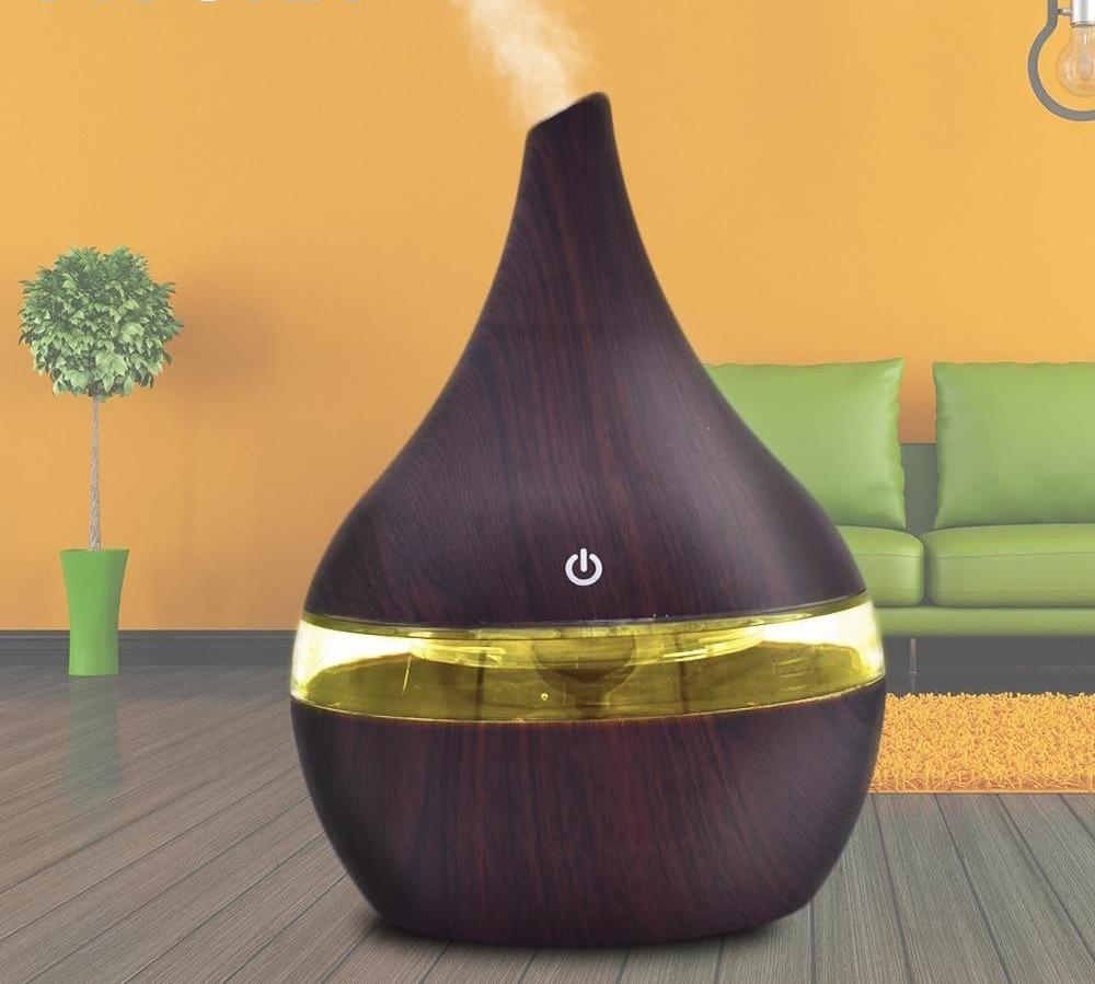 Electric Air Humidifier Ultrasonic Essential Oil Diffuser- 7 Color LED Night Light - Toyzor.com