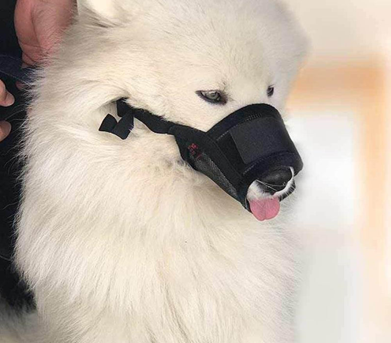Adjustable Muzzle For Dogs Anti Bark/Bite - Toyzor.com