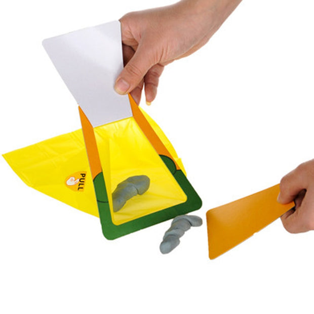 Pet Waste Bag Excrement Pick Up The Toilet Disposable Pooper Scooper