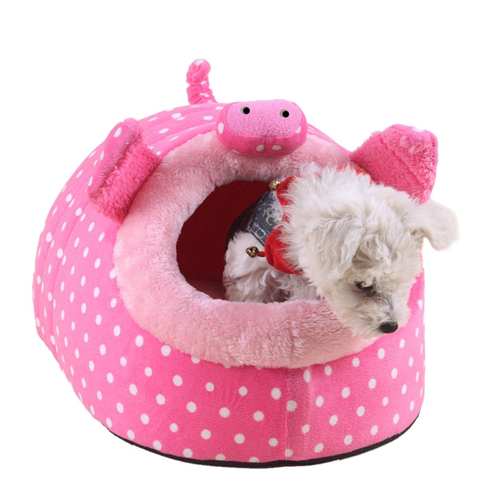 Plush Soft Guinea Pig House Bed Cage for Hamster