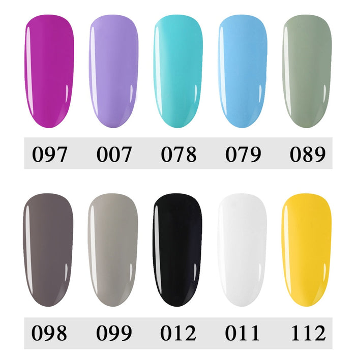 Candy Colors Hybrid Gel Varnishes - Toyzor.com